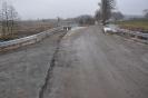 Budowa mostu przez rzekę Koczynkę w miejscowości Grąsy