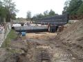 Budowa mostu przez rzekę Radew w m.Rosnowo - DW168