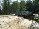 Most na cieku wodnym Dobrzyca w leśnictwie Pluskota