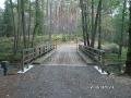 Przebudowa mostu - Drawieński Park Narodowy