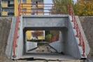 Tunel dla pieszych pod torem bocznicy kolejowej do EC Dąbska